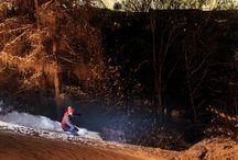 Canon | Sport, kde byste ho nečekali - lyžování na Petříně (Foto: David Sodomka)