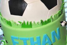 Ethan's 4th Birthday Soccer Party ideas