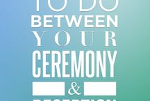 8 things to do during ceremony