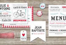 Deco papier mariage et autres