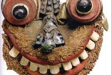 Inde et Sri Lanka - masques / Masques d'Inde et du Sri Lanka