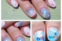 nice nail art / by Anthia Lee