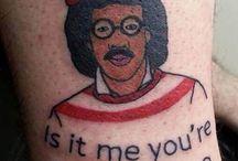 design me: tattoos, weird & funny