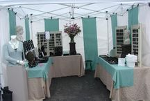 Vendor booths tables