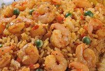 arroz con camaron chino