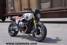 BMW r nineT special scrambler Paris Dakar / BMW r nineT special scrambler Paris Dakar