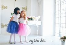 girls secrets / little pretty girls in beautiful tutu skirt
