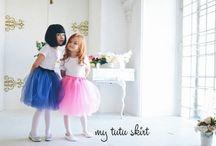 girls secrets / little pretty girls in beautiful tutu skirt