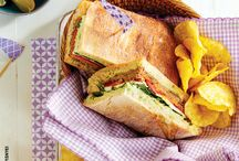 Filling sandwich recipes / From wraps to subs to tacos and burritos, we've got every type of sandwich recipe—perfect for lunch or dinner.