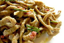 Tagliatelle, tagliolini, spaghetti alla chitarra, pappardelle o simili / Primi piatti di pasta all'uovo o simili