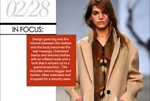 fashion forecast F/W 2013