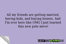 Pole Fitness / Moves I've achieved, moves I want to achieve, blog posts, pole outfits...everything pole!