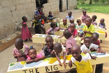 Donations / Development done in orphanages and school by volunteer's donations