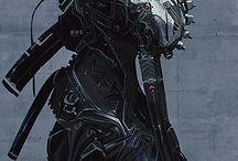Robots and Cyberpunk
