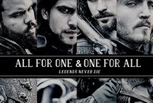 The Muskeeters BBC / Santiago Cabrera, Luke Pasqualino, Tom Burke and Howard Charles