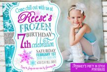 Frozen Themed Birthday Party / Disney's Frozen themed birthday party ideas / by 123CRAFT