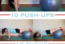 stability ball workout