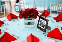 My red and blue wedding / Idee per il mio matrimonio