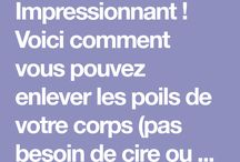 Corps astuces