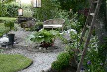 Trädgård - så snyggt!