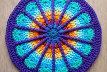 RIP Wink.  28-06-2015/  1989-201 crochet mandalas