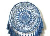 Atrapa sueños crochet