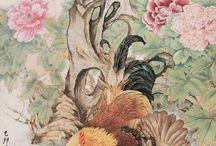 peinture asie