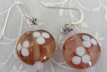 Artisan Bead Earrings / Handcrafted, one-of-a-kind earrings, made with my own lampwork or other artist-created beads.