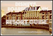Disney's Boardwalk Inn - Walt Disney World Resort Tips, Discount Codes & Information / A Walt Disney World Deluxe Resort. Stay in the magic! Check out the resort rates, room types & room views, maps & room layouts.  Discover on-site resort benefits like Extra Magic Hour, FastPass+, MyDisneyExperience and so much more.  Learn more about discounts, dining menus, restaurants, pools, kid's activities and other recreation information.  Walk to Epcot and Hollywood Studios.