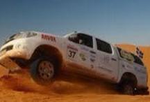 Le Trophée Roses des sables / Rallye 4x4 100% féminin dans le désert du Maroc à but humanitaire avec l'association 'Enfants du désert' Du 11 au 21 octobre 2012