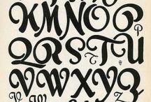 Art nouveau lettertypes