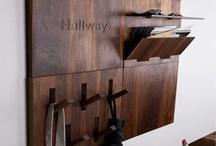 Compact Hallway or Entryway Storage