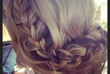 Hair for Stephs wedding