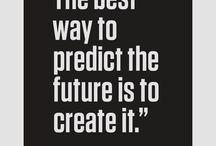 Inspiration, motivation, knowledge...