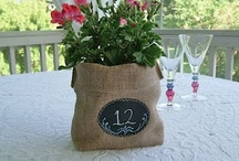 CRAFTS - BURLAP PROJECTS / by Diane