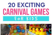 Carnival Games-Activities for Kids