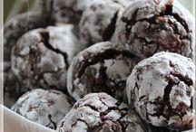 Biscuits croquants au chocolat