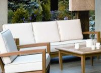 Kingsley-Bate Seating Collections / Teak, Woven, and Stainless Steel outdoor seating collections by Kingsley Bate. / by Frontera Furniture