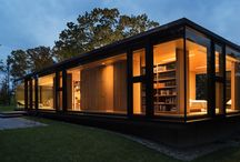 Prefab Cabins / Cute little prefab cabins, guesthouses and acessory dwelling units / by Inhabitat