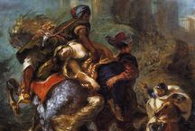 Eugène Delacroix / French Romantic Artist (1798-1863)