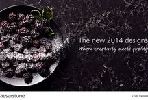 Caesarstone 2014 Collection / Where Creativity Meets Quality: http://www.caesarstone.com/minisite_newcolours/