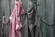 Aprons, smocks and simple shapes to diy