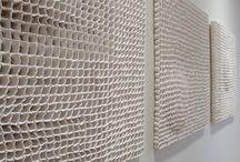 Ceramic wall objects