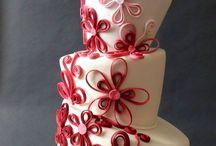 Topsy Turvy Wedding Cakes