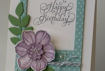 Cards / Stamping, embossing, etc / by Sharon Engen