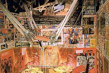 kunstgeschichtlicher Rückblick - Installationen / Bildreferenzen den Künstlern aus Rosenthal