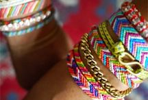 Friendship Bracelets / by Evelyn Beatty