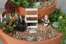 Miniature Gardening / gnomes and fairies and all things miniature.