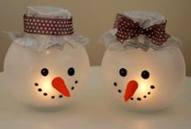 Xmas and winter crafts / by Linda Lafreniere