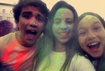 Wild Color Party / Uma Festa divertida com pessoas 3 estrelas *-*